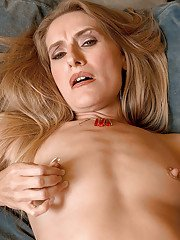 Brandy Smith is a horny amateur mature with small tits.