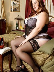Nikki Cars is a beautiful fatty who loves dressing up in classy lingerie and showing