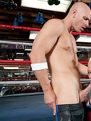 BBW blond wife Angel Vain gets nailed by her sports coach in the gym