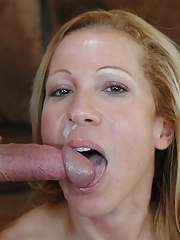 Heated mature blonde Kimmie Morr strips natural boobs and fucks hot