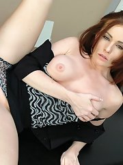 Sizzling MILF teacher Ginger Lea got her tight cunt drilled hardcore