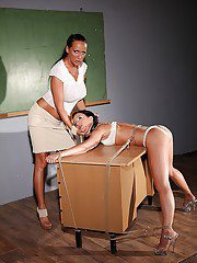 Mandy Bright is a perfect BDSM teacher for kinky Madison Lovely