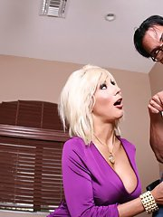 MILF pornstar Puma Swede gets fucked with a stiff cock in reality