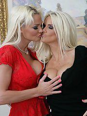 Wives Rhyse Richards and Rhylee Richards play naughty lesbians