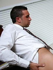 Busty babe Veronica Rayne is fucking hardcore on the office table
