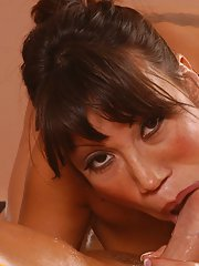 Asian MILF babe with huge tits Ava Devine has rough anal sex