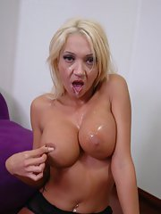 Mature Latina housewife Donna Doll has hardcore sex with a meaty cock