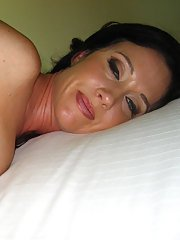 Amateur blue eyed MILF babe Kimberly Kole having hardcore sex