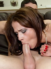 Tiny tits milf Miss Raquel in exciting hardcore ass fucking gallery