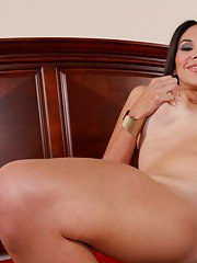 Latina housewife Missy Martinez gives a blowjob and rides a big cock