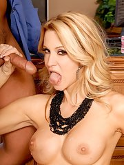Horny MILF with big tits jessica drake is into hardcore ass fucking