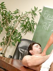 Horny schoolgirl with big tits Briana Blair gets banged in the class