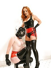 Lusty babes Gemini amp Paige Richards are into lesbian BDSM action