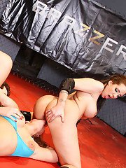 Hot MILFs Phoenix Marie  Kelly Divine are into groupsex with lucky guy