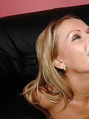 Big busted MILF gets her shaved pussy licked and slammed hardcore
