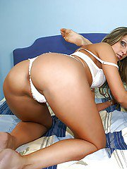Naughty lesbians Debbie White and Petra M. get naked for fisting