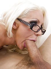 Naughty MILF in stockings Holly Price gets her pussy slammed hardcore