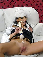 Nessa Devil  Leonelle Knoxville having lesbian fun with their toys
