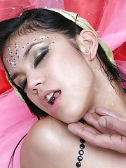 Seductive indian babe gets her pussy licked and drilled hardcore