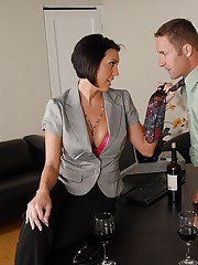 Naughty MILF with round boobs Dylan Ryder gfets porked hardcore