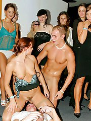 Horny lady Tatiana Milovani is into hardcore groupsex with her friends