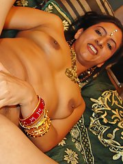 Salacious indian lassie has a wild groupsex with four well-hung guys