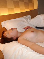 Slutty asian coed gives a blowjob and gets screwed hardcore