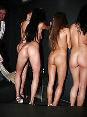 Horny chicks have some pussy licking fun at the wild party