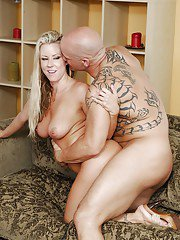 Carolyn Reese  Riley Evans have a foursome groupsex with their husbands