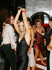 Letch MILFs going wild and getting down at the wet sex party