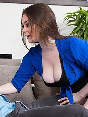 Naughty amateur with massive jugs Tessa Lane gets screwed and facialized