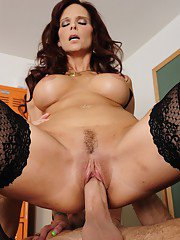 European teacher Syren De Mer gets shagged and facialized by her student