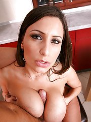 Jaw-dropping sexy european MILF gets fucked and glazed with cum