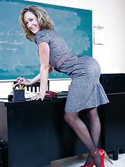Sweet teacher Brandi Love begins another kind of sexy lesson