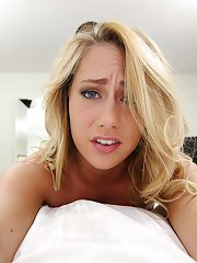 Amateur gonzo teen Carter Cruise displays pair of impressive tits