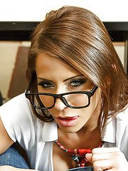 Madison and Monique are brilliant horny milf and nasty schoolgirl