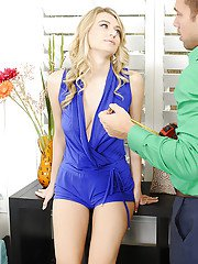Reality wife Natalia Starr is sucking a big hard cock of her man
