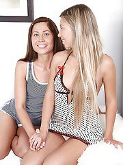 Nastie and Catrice using various sex toys to reach satisfaction