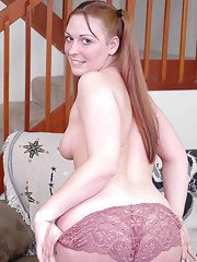 Dazzling amateur Kylie Haze prefers playing with her tight sissy