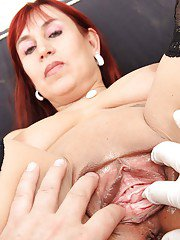 Tattooed milf Darja gets dirty when sees her handsome doctor