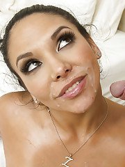 Latina brunette Missy Martinez has her big tits and tight ass teased