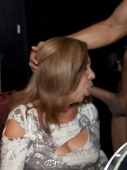 Cumshot action featuring fantastic matures doing blowjobs and handjobs