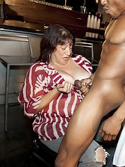 First class blowjob done on a CFNM party by blondes and brunettes