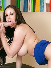 Brunette wife Kendra Lust has her milf pussy pounded hardcore
