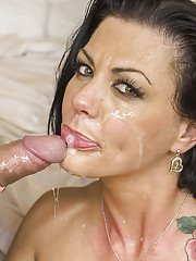 Nasty brunette wife Jezebelle gets very lonely sometimes