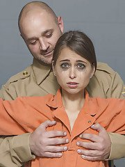Lesbian sluts Riley and Shay are having sexy fun in the prison