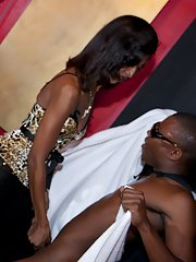 Wild CFNM party with crazy Ebony girls who love doing blowjobs