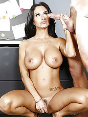 Reality sex scene features Latina cougar with big tits Ava Addams