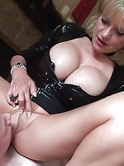 Mature lady Lady Sonia takes part in a sexy femdom fetish action