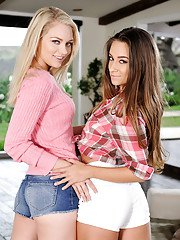 Alli Rae and Cassidy Klein are pretty hot and slender models!